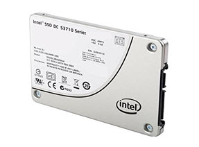 SSD Intel DC S3710 Series 1.2TB, 2.5in SATA 6Gb/s, 20nm, MLC