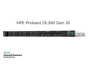 HPE Proliant DL360 Gen10 G5115 2.4GHz 1P 10C 16GB, 8SFF CTO Server