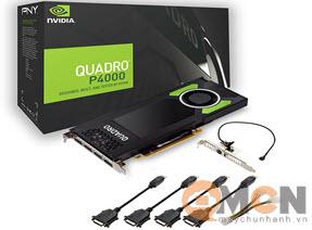 Card Màn Hình NVIDIA Quadro P4000 8GB Máy Trạm Worstation 1ME40AA