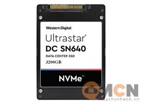 Ổ Cứng Máy Chủ WD Ultrastar DC SN640 3200GB NVMe U.2 WUS4CB032D7P3E3