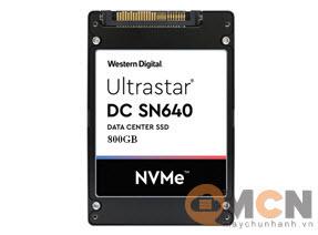 SSD Western Digital Ultrastar DC SN640 800GB NVMe U.2 WUS4CB080D7P3E3