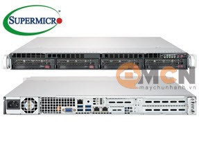 Supermicro SuperServer System SYS-6019P-WT Máy Chủ Rackmout 1U