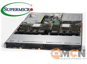 Supermicro SuperServer System SYS-6019U-TN4R4T Máy Chủ Rackmout 1U