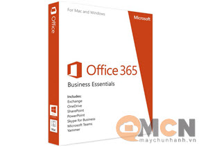 Phần Mềm Microsoft Office 365 Business Essentials (Softwave Office)