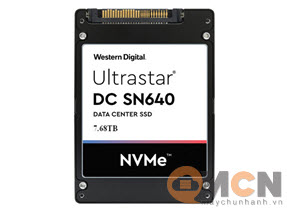 SSD Western Digital Ultrastar DC SN640 7680GB NVMe U.2 WUS4BB076D7P3E3