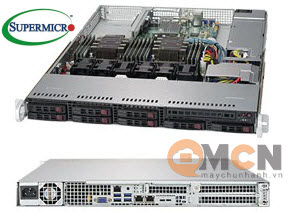 SuperServer System SYS-1029P-WT Máy Chủ Supermicro Rackmout 1U