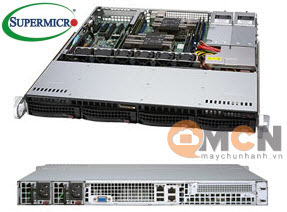 Supermicro SuperServer System SYS-6019P-MTR Máy Chủ Rackmout 1U