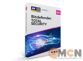 Bitdefender Total Security 5U/1Y TS01ZZCSN1205LEN Phần Mềm Diệt Virus