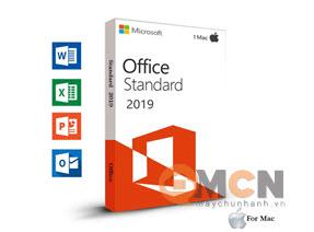 Office Mac Standard 2019 3YF-00652 Phần Mềm Microsoft Office For Mac