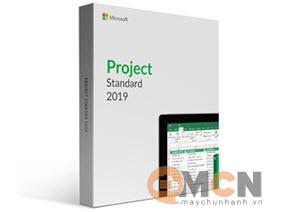 Microsoft Office Project Std 2019 Sngl 076-05829 phần mềm (Softwave)