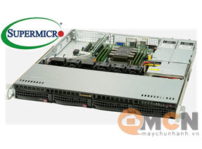 Supermicro SuperServer System SYS-5019P-MR Máy Chủ Rackmout 1U