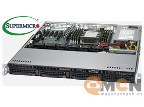 SuperServer System SYS-5019P-MT Máy Chủ Supermicro Rackmout 1U