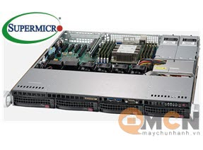 Supermicro SuperServer System SYS-5019P-MTR Máy Chủ Rackmout 1U