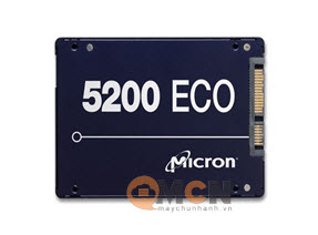 Ổ cứng SSD Micron Server 5200 Eco 960GB 3D NAND TLC Sata 6.0Gb/s 2.5