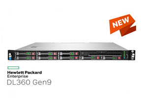 HPE Proliant DL360 Gen9 E5-2620 V4 HDD 2.5
