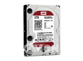 Ổ cứng Western Digital Red Pro 2TB 3.5 SATA 3 256 MB Cache Nas