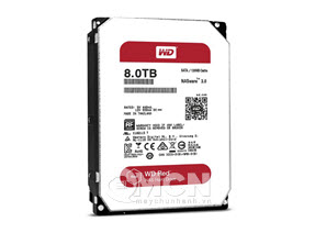Ổ cứng Western Digital Red 8TB 3.5 SATA 3 256 MB Cache Nas