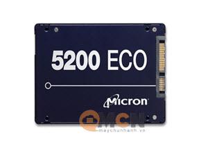 Ổ cứng SSD Micron Server 5200 Eco 3.84TB 3D NAND TLC Sata 6.0Gb/s 2.5