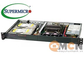 Supermicro SuperServer System SYS-5019C-L Máy Chủ Rackmout 1U