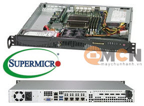 SuperServer System SYS-5019C-M4L Máy Chủ Supermicro Rackmout 1U