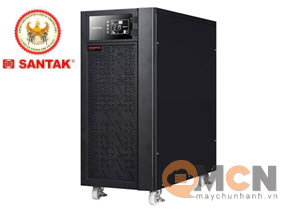 Santak C10K LCD - Tower, Balck 10kVA/9kW True On-Line UPS
