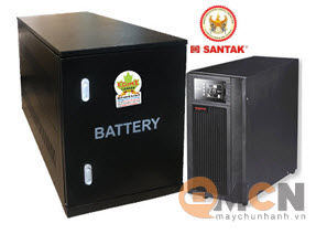 UPS Santak C10KS LCD 10kVA/9kW (chưa gồm ắc quy)