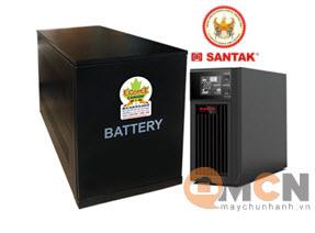 UPS Santak C2KS LCD 2kVA/1.8kW (chưa gồm ắc quy)