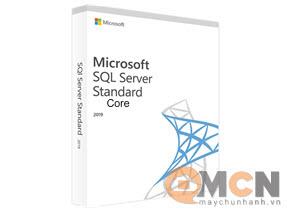 SQL Server Standard Core 2019 SNGL OLP 2LIC NL CORELIC QLFD Softwave