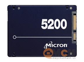 Ổ cứng SSD Micron Server 5200 Max 480GB 3D NAND TLC Sata 6.0Gb/s 2.5