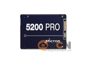 Ổ cứng SSD Micron Server 5200 Pro 1.92TB 3D NAND TLC Sata 6.0Gb/s 2.5