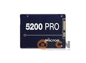 Ổ cứng SSD Micron Server 5200 Pro 3.84TB 3D NAND TLC Sata 6.0Gb/s 2.5