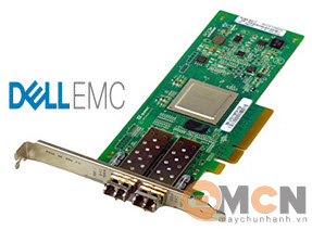 Network Card Dell QLogic 2562 Dual Port 8Gb Optical Fibre Channel HBA
