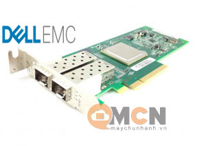 Dell Qlogic 2562 Dual Channel 8Gb Optical Fibre Channel HBA PCIe Low Profile