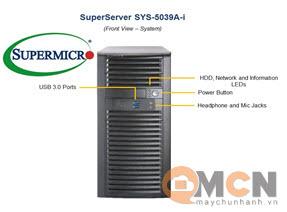SuperWorkstation System SYS-5039A-i Máy Trạm Supermicro