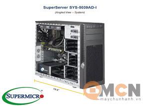 Máy Trạm Supermicro SuperWorkstation System SYS-5039AD-I