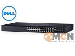Switch Dell EMC N1524, 24x 1GbE + 4x 10GbE SFP+ Ports 42DEN210-AEVX