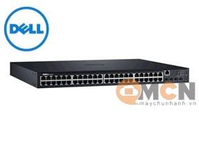 Dell EMC Switch N1548P , PoE+, 48x 1GbE + 4x 10GbE SFP+ 42DEN210-AEWB