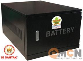 Cabinet DCX A03 For UPS Santak (Không bao gồm ắc quy)