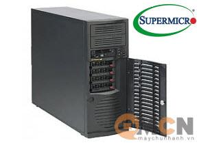 Vỏ case (Cây) máy chủ Supermicro CSE-733TQ-500B Mid-Tower Server