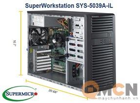 SuperWorkstation System SYS-5039A-iL Máy Trạm Supermicro