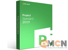 Project Standard 2019 SNGL OLP NL 076-05829 Microsoft Softwave Sever