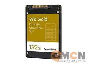 SSD WD Gold Enterprise 1.92TB PCIe Gen 3.1x4 NVMe U.2 WDS192T1D0D