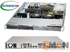 Chassis máy chủ (Server) Supermicro CSE-813LT-350CB Rack 1U