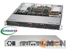 Vỏ case (Cây) máy chủ Supermicro CSE-813MFTQC-350CB Rack 1U Server