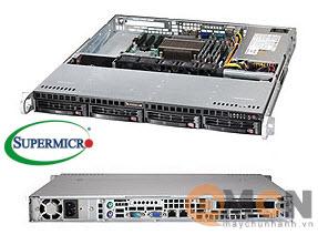 Vỏ case (Cây) máy chủ Supermicro CSE-813MT-350CB Rack 1U Server