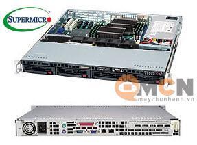 SuperChassis 813MTQ-600CB vỏ case máy chủ (Server) Supermicro