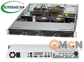 SuperChassis 813T-441CB vỏ case máy chủ (Server) Supermicro