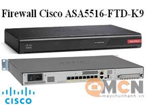 Cisco ASA 5516-X with Firepower Threat Defense, 8GE, AC ASA5516-FTD-K9