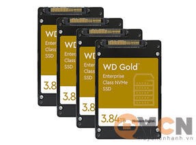 Western Digital Gold Enterprise 3.84TB SSD Server NVMe U.2 WDS384T1D0D