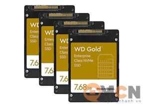 SSD WD Gold Enterprise 7.68TB PCIe Gen 3.1x4 NVMe U.2 WDS768T1D0D